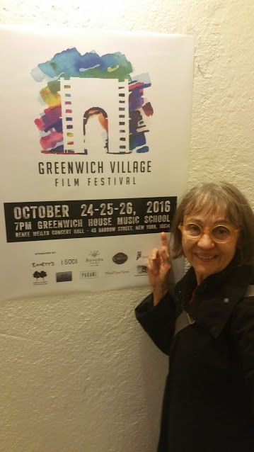 "Alice recently screened her Academy Award-nominated short ""The Collector of Bedford Street"" as part of the Village Portraits segment of this year's Greenvich Village Film Festival. Alice attended the screening on Opening Night!"